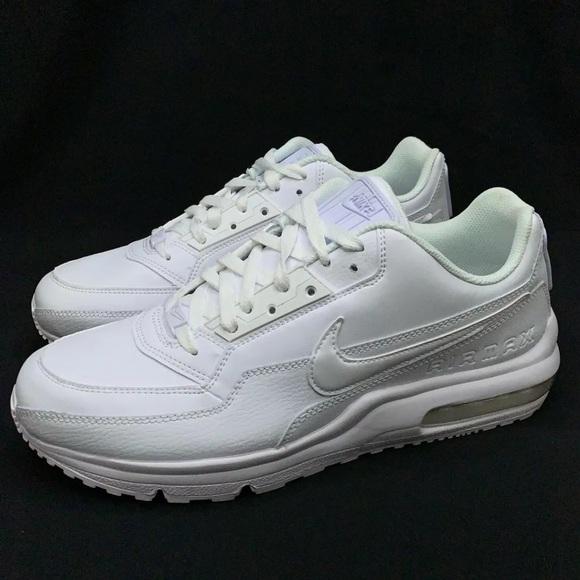 new arrivals 0971e 7b775 Nike Air Max LTD 3 Triple White Running Shoes